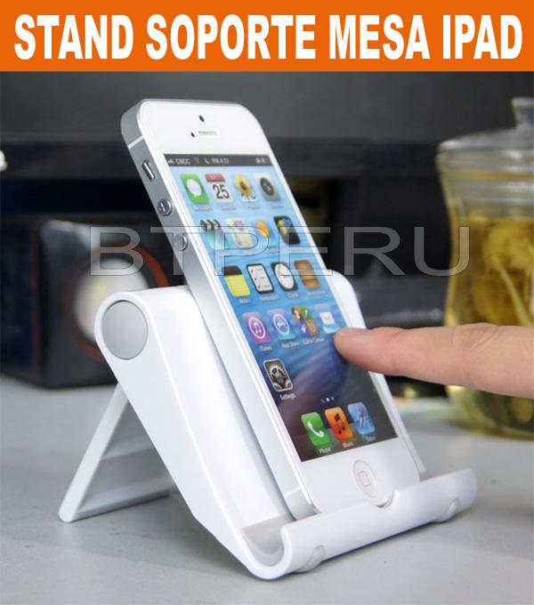 Soporte stand mesa ipad galaxy tab note iphone 5s ipod - Soporte tablet mesa ...